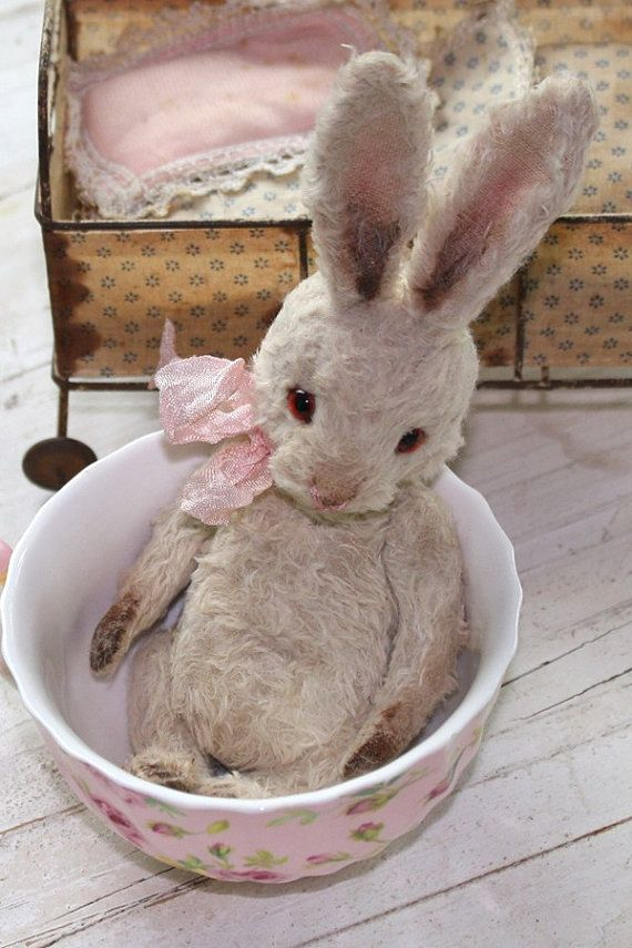 Pattern for bunny faith  well aged little by theoldpincushion