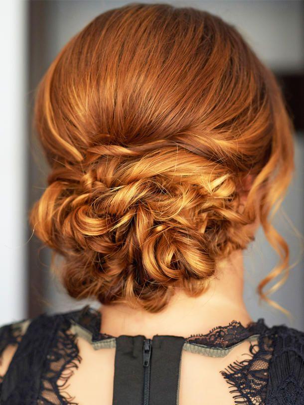 Auch mit kurzen Haaren kannst du dir schöne Hochsteckfrisuren machen