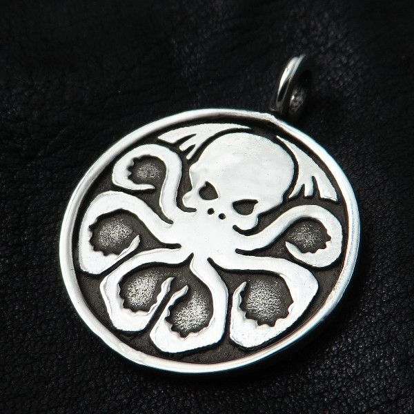 Silver Cthulhu pendant from The Sunken City by DaWanda.com