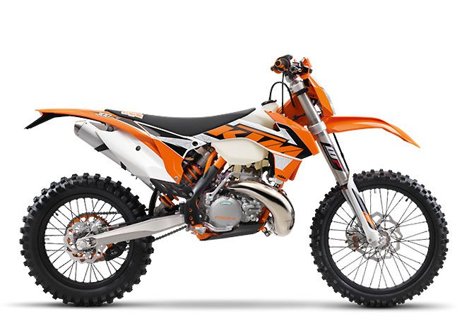 KTM introduces its 2016 two-stroke off-road line-up with minor revisions.