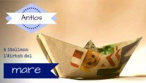 Antlos, l'AirBnB sul mare e tutto Made In Italy