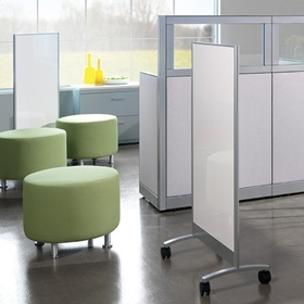 Mobile whiteboards--so many uses!