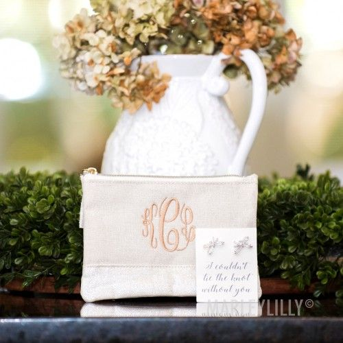 Monogrammed Bridesmaid Gift Set | Marleylilly