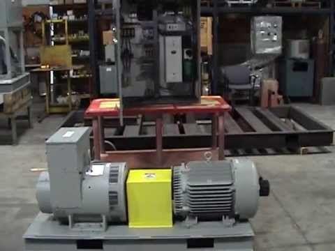 Horlick Model 400SC 50Hz to 400Hz Motor-Generator Set Design - YouTube