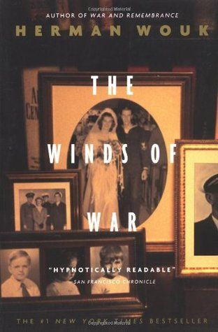 The Winds of War by Herman Wouk - A masterpiece of historical fiction, spellbinding and impossible to put down. This  book was sweeping in scope, from the European Theater to the Pacific and all parts in between. Part one of a two parts series about World War II.