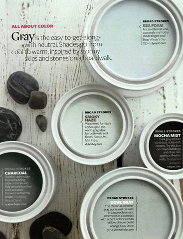Gray for the basement