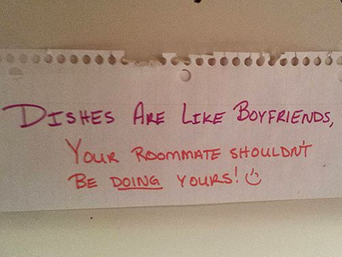 Roommate Notes