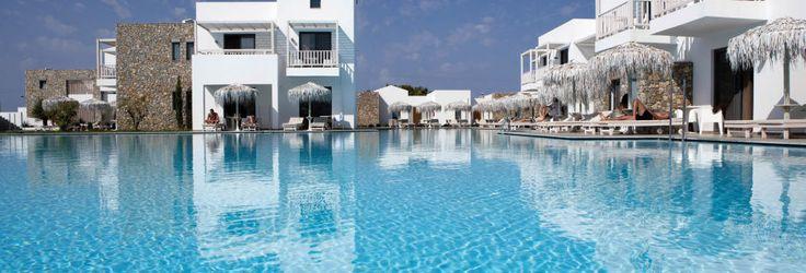 Poolområde på Hotel Diamond Deluxe Hotel på Kos, Grækenland.
