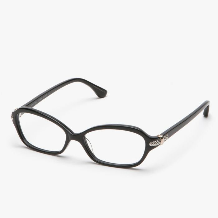 David Yurman Women's Thoroughbred Full Rim Teacup Glasses in Black featured in vente-privee.com