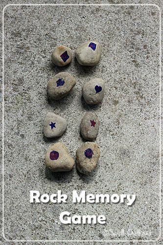 Memory met stenen
