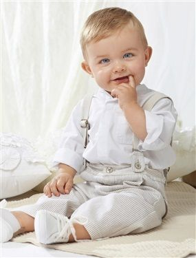 Baby Boy Shirt & trousers outfit