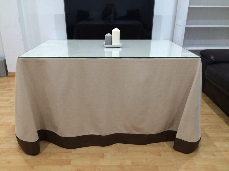 Falda de mesa camilla mis trabajos pinterest see - Mesa camilla moderna ...