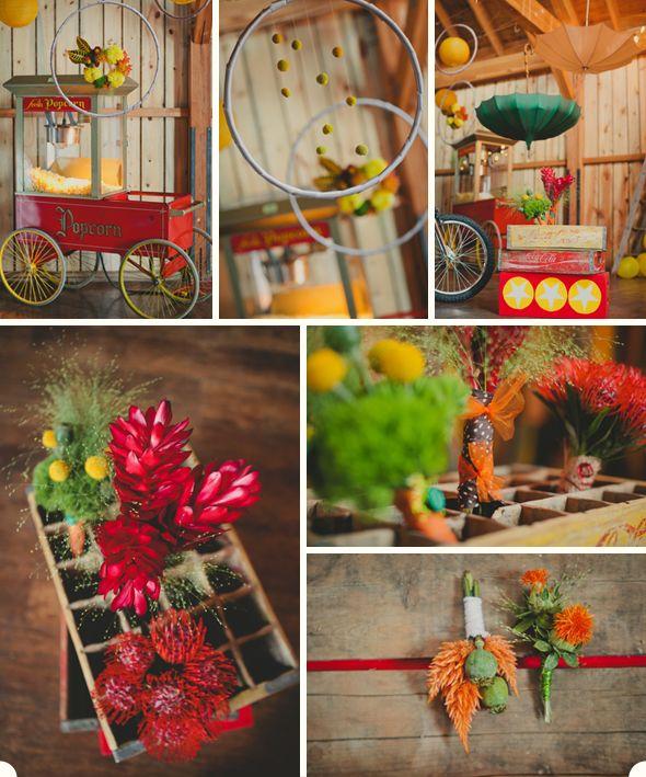 #Circus #flowers #lace.and.lilies: Becka S Wedding, Circus Harlequin Wedding, Color, Circus Themed Wedding, Styled Shoot, Moon Wedding, Circus Wedding, Alternative Wedding