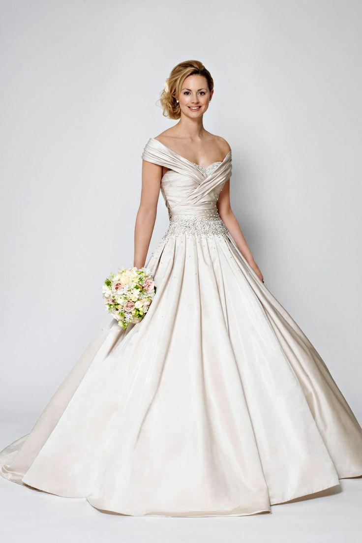 361 best Bridal Gowns images on Pinterest   Wedding frocks, Short ...