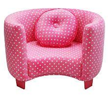 Harmony kids pink dots chair! Love!