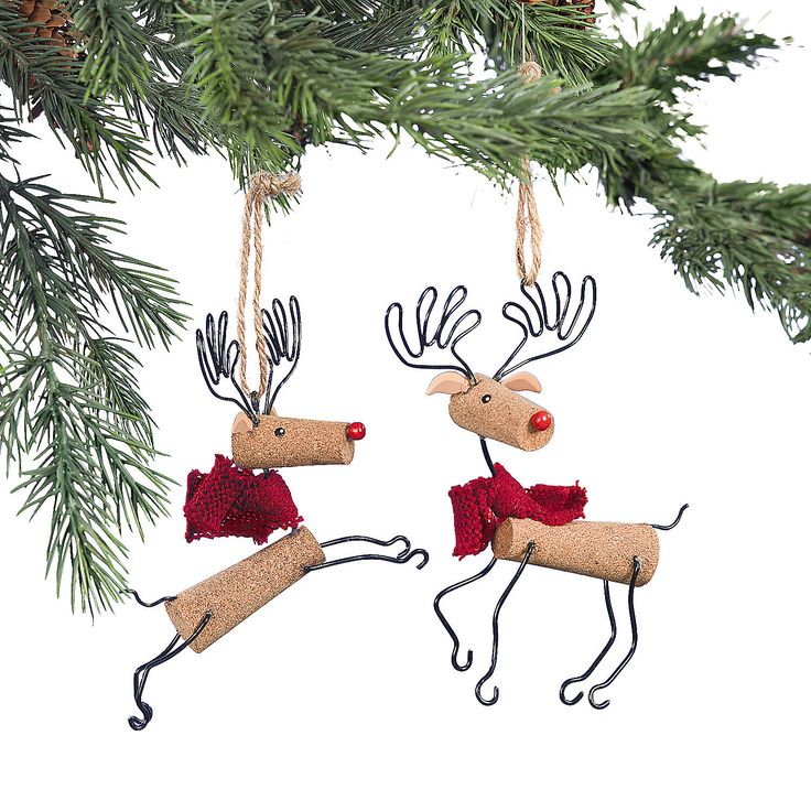 Reindeer Ornaments - OrientalTrading.com  #OrientalTrading.com #ChristmasWishList