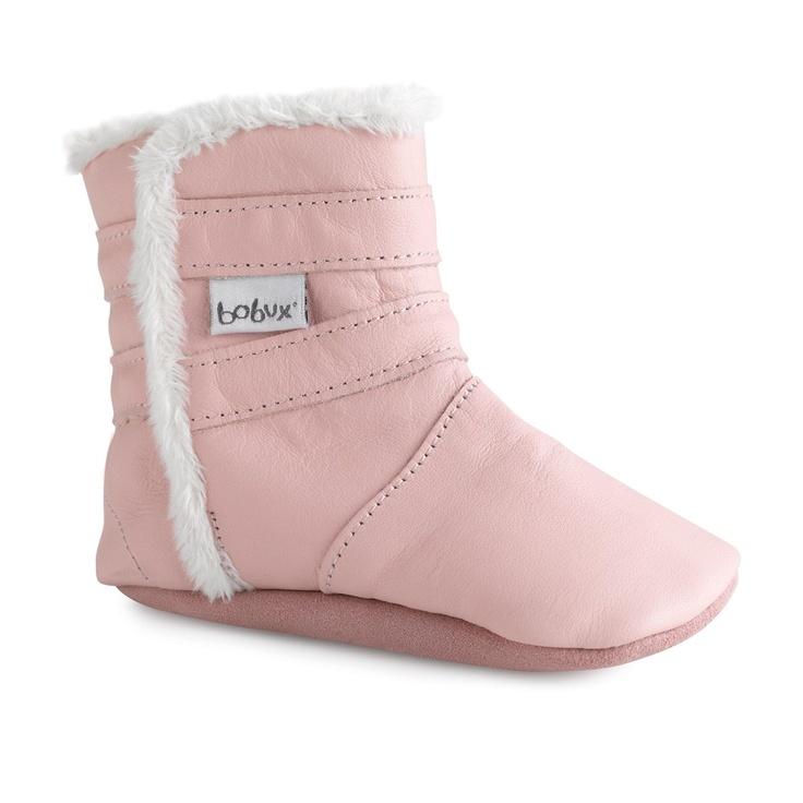 Bobux Pale Pink Boots online at #BabyStuff now! $44.95 www.babystuff.co.nz