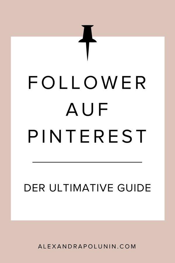 Pinterest-Follower bekommen – der ultimative Guide. Ich verrate dir 12 empfehlenswerte Strategien, wie du organisch und nachhaltig mehr Follower auf Pinterest erhältst sowie eine Strategie, von der du lieber die Finger lassen solltest. Ganz am Ende des Blogartikels erzähle ich dir dann auch, mit welchem Tool ich mein Followerwachstum auf Pinterest beinahe verdoppelt habe. (Kein Witz!)