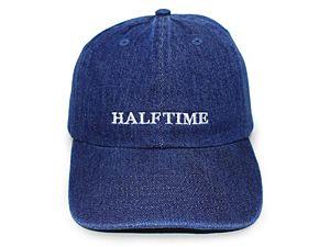 HALFTIME WORKS 【SUMMERTIME DAD HAT/1st DK BLUE DENIM】 ハーフタイムワークス ロープロファイルキャップ - ストリートブランド/HALFTIME WORKS [Amazingstore[アメイジングストア]]