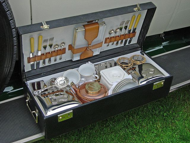Rolls-Royce picnic hamper