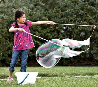 DIY Giant Bubbles