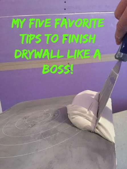 Want to finish some drywall, but don't know where to start? Check out this step-by-step tutorial with lots of photos!