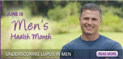 My husband has Lupus ....