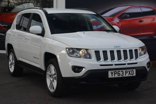 Used 2014 (63 reg) White Jeep Compass 2.4 Limited 5dr Auto for sale on RAC Cars