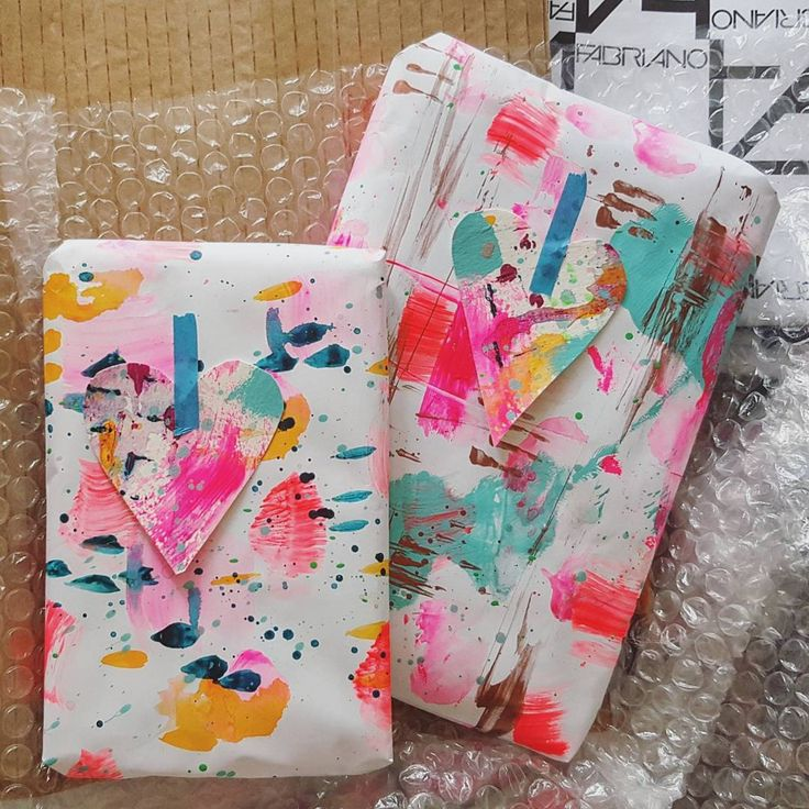 "Wrapping papers- Helen White (@helenwhiteart_) on Instagram: ""Guys, I really loved making these abstract wrapping paper sheets for my packaging year and just…"" #prettypaers"
