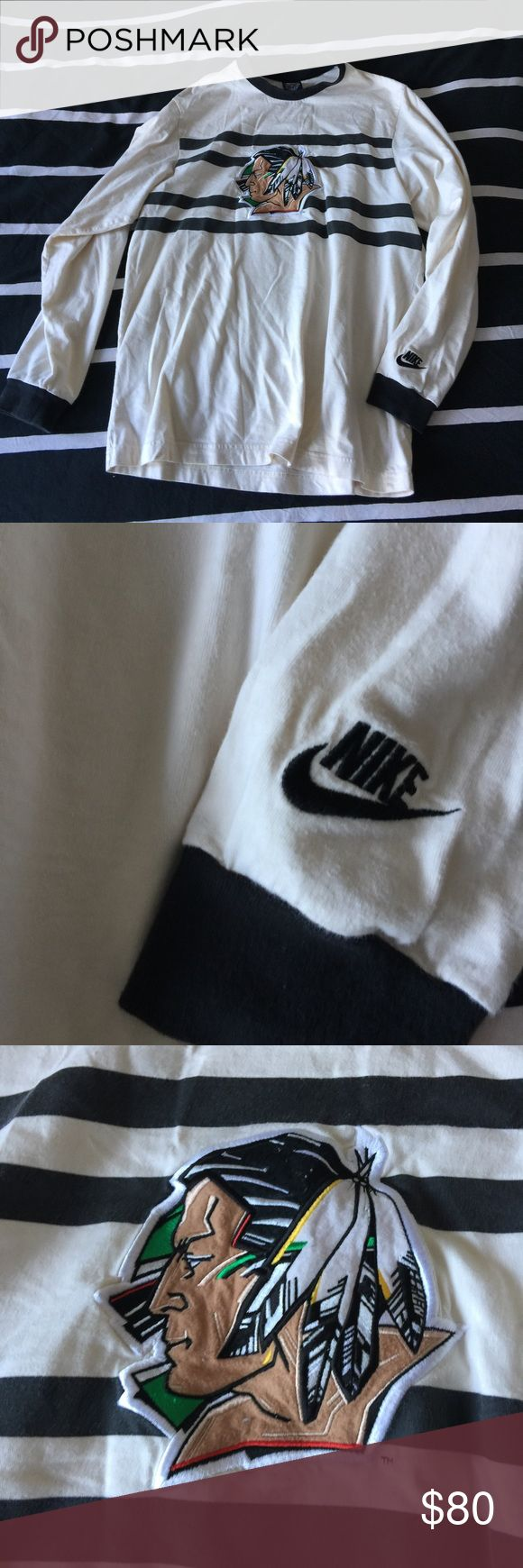 Vintage Nike BLACKHAWK long sleeve So many comments on this always!! It's sick Nike Tops Tees - Long Sleeve