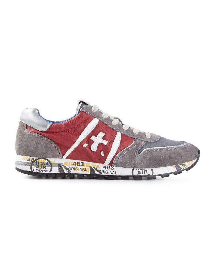#premiata #sneakers #trainers #red #skypremiatawhite #mens www.jofre.eu