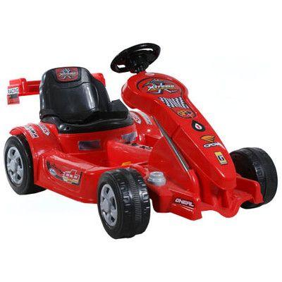Formuła dla małego kierowcy wyścigowego