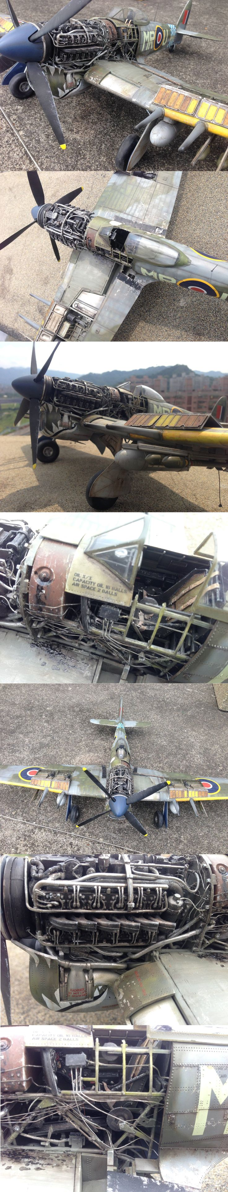 Hawker Typhoon MkIb 1:24 Airfix
