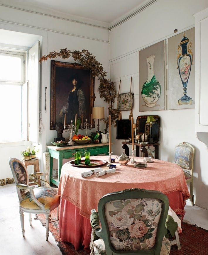 Best 25 eclectic dining rooms ideas on pinterest for Dining room ideas bohemian