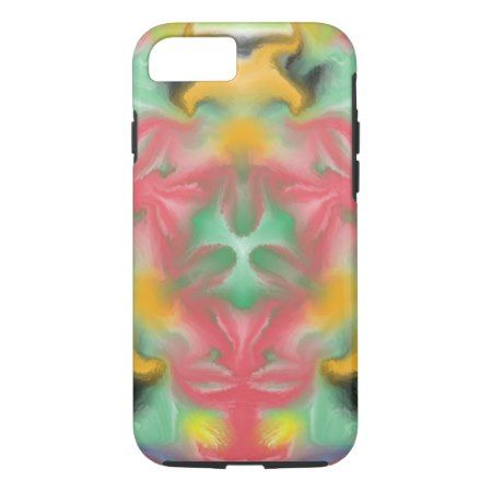 Colorful kaleidoscope pattern iPhone 7 case - tap, personalize, buy right now!