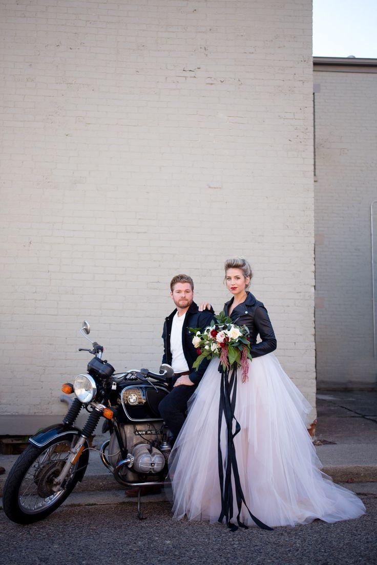 Edgy industrial wedding ideas