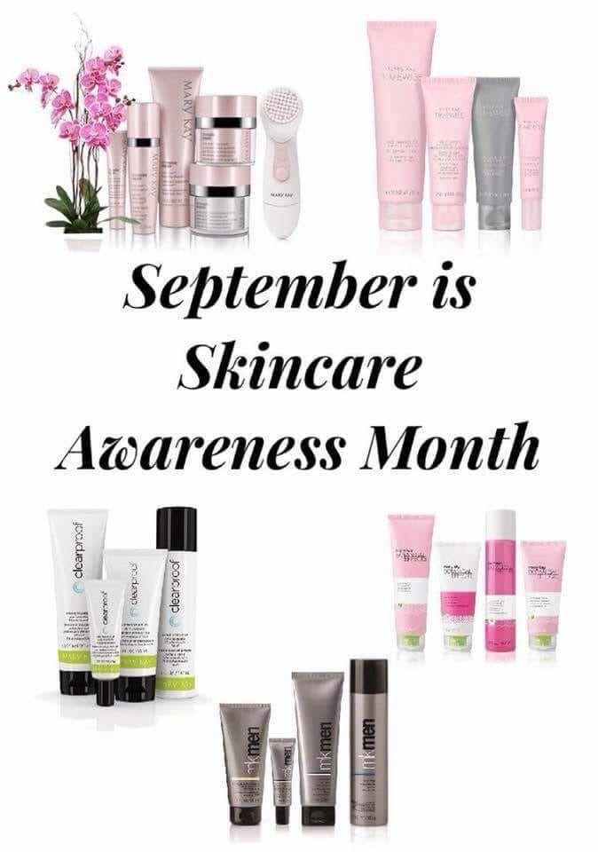 Skincare Awareness Month Mary Kay Marketing Mary Kay Skin Care Mary Kay