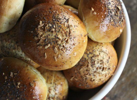 how to make shiny burger buns