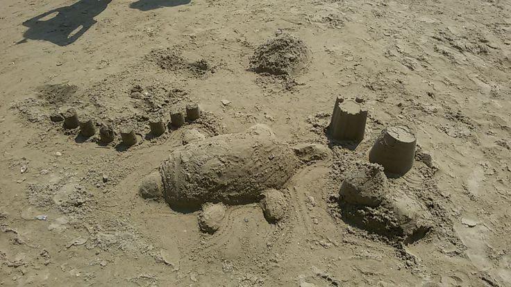 Noi con la sabbia siamo dei super campioni
