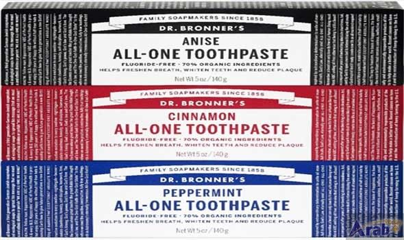 Dr. Bronner's launches All-One Toothpaste
