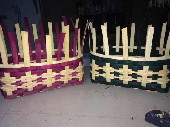 Basket Weaving PATTERN for Bold Storage by HookandWeaveDesigns