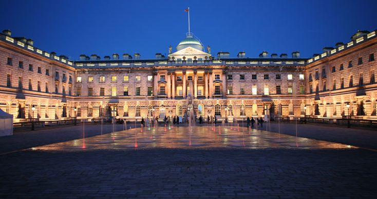 Somerset House. It's foundations were laid in 1776 and the building was generally completed in 1780.