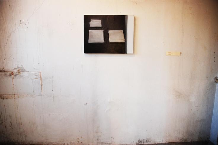 Βαγγέλης Γκόκας Οι τρεις επαίτες, 2010 Λάδι σε καμβά, 50×65 εκ. Παραχώρηση της Elika Gallery Φωτογράφιση Σπύρος Στάβερης
