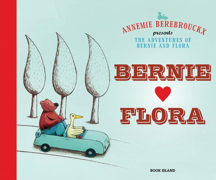 'Bernie and Flora' by Annemie Berebrouckx | Published by Book Island -  'A gentle and colourful story that explores the nature of friendship and love with subtle touches of humour.'