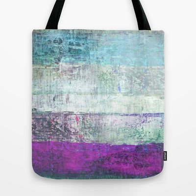 Abstract in blue and violet by FUKU & S.Borkowska