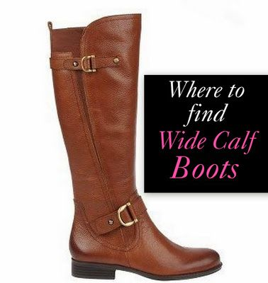 Tips for shopping for wide calf boots + a list of nearly 40 retailers who are selling wide calf boots this season!