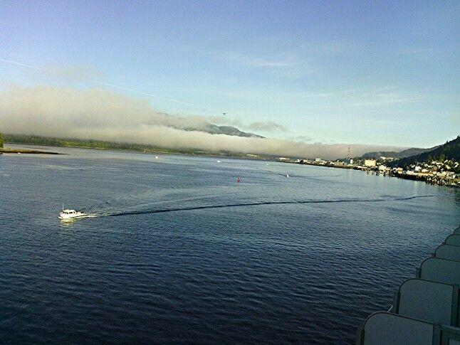 mytripadvice: Alaska Ketchikan harbor early morning on a RARE sunny day, a very walkable town