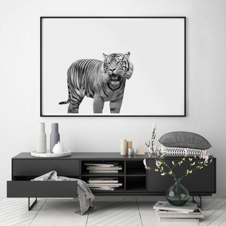 Tiger Art Print Hector Rose