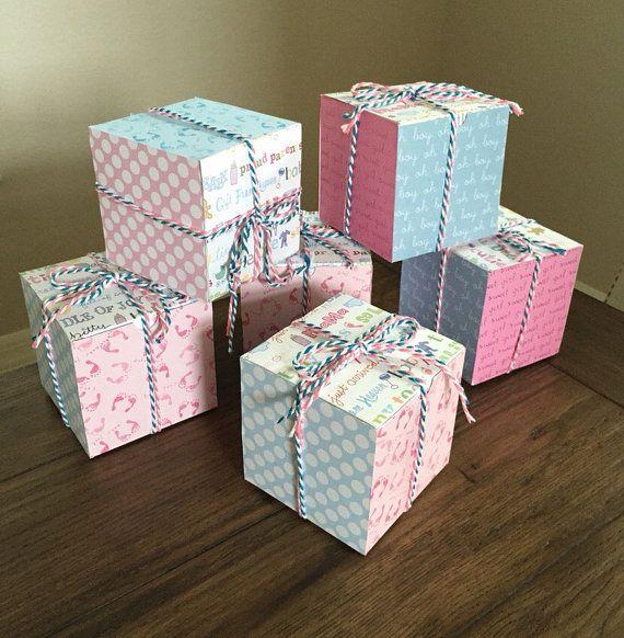Baby Gender Reveal Box Custom Baby Gender by AveryVienna on Etsy