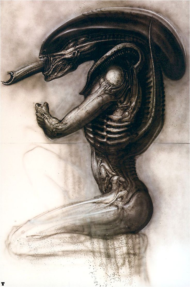 Hr giger tattoo designs - Find This Pin And More On H R Giger